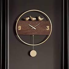 moderne wanduhr kreative uhren im nordischen stil mit pendel