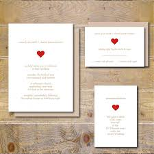Simple Wedding Invitations Rustic Heart Country Summer Fall Sweetheart