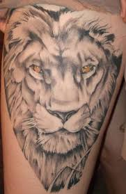 Lion Tattoo Guys 15 Cool Design