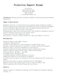 Medical Scheduler Resume Production Support Sample Surgery