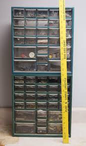 100 Truck Stuff And More Lot Of 2 Hardware Organizer Cabinets Full Of Good Stuff Check