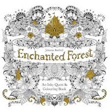 Coloring Books For Adults Enchanted Forest By Johanna Basford