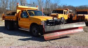 100 Truck With Snow Plow 2002 Ford F450 Super Duty Snow Plow Truck Item H3806 SOL