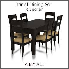 6 seater dining set six seater dining table and chairs