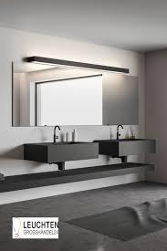 wandleuchte für das badezimmer schwarz matt oder chrom