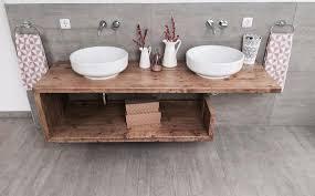 waschtisch altholz holz waschbeckenunterschrank auf maß