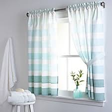 Brylane Home Bathroom Curtains by Bath Window Curtains Window Valances Curtain Panels U0026 More