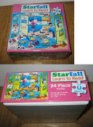 100 Starfall 3 Puzzles 14594 Learn To Read 24 Piece Puzzle New
