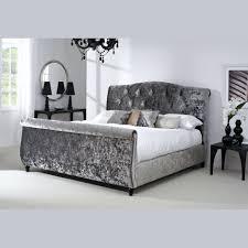 Blue Velvet King Headboard by Bedroom Endearing Grey Velvet Tufted Headboard Gray Cal King Uk