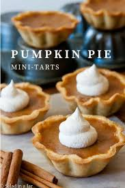 Libbys Pumpkin Pie Mix Cookie Recipe by Pumpkin Pie Mini Tarts