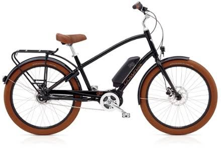 Electra Townie Go! 8i Electric Bike - Black