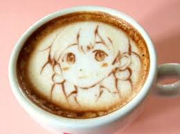 Anime Coffee Art Kirinyan