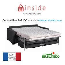 canap convertible matelas canapés confort bultex convertibles rapido canapé lit osman