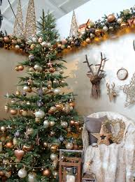 Copper Christmas Decorations Unique A Warm And Cosy Tree Design With Brown Cream