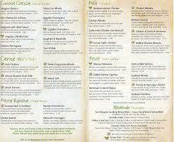 Olive Garden becausei mhungry GTCC MENU DESIGN