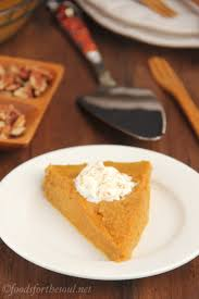 Libbys Pumpkin Nutrition Facts by Crustless Pumpkin Pie Amy U0027s Healthy Baking