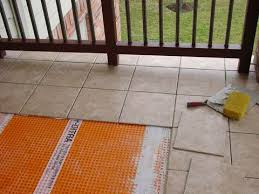 tiling with ditra uncoupling membrane balcony terrace tile your