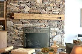 Stone Fireplace With Built In Stacked For Fireplaces 3 Tags Rustic Living