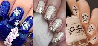 15 Simple Winter Nail Art Designs Ideas Trends & Stickers 2015