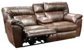 leather loveseat recliner used 107 leather rocker recliner