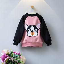 Fall Clothes Baby Boys Jacket Puppy Cute Coat For Girls Sports Outfits Sweatshirt
