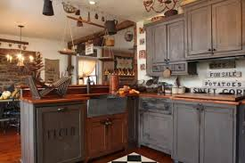Primitive Decor Kitchen Cabinets by 379 Best Primitive Kitchens Images On Pinterest Primitive