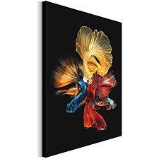 revolio 40x50 cm leinwandbild wandbilder wohnzimmer modern