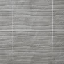 25x50cm Ditto Light Grey Wave By BCT