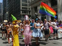 Halloween Parade Nyc Route 2014 by Nyc Pride Parade Marks 45th Anniversary Of Stonewall Inn Riots
