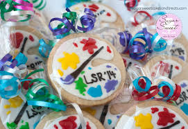 Decorated Shortbread Cookies by Paint Palette Cookies Cakecentral Com