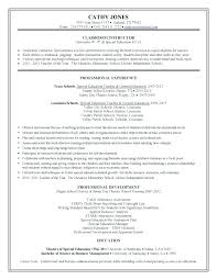 Education In Resume Examples High School Physical Objectives