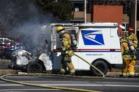 Mail Damaged In Colorado Springs When Postal Truck Caught Fire To Be ... Heres How Hot It Is Inside A Mail Truck Youtube Usps Stock Photos Images Alamy Postal Two Sizes Included Bonus Multis Us Service Worker Found Dead Amid Southern Californias This New Usps Protype Looks Uhhh 1983 Amg Jeep Vehicle The Working On Selfdriving Trucks Wired What Fords Like Man Arrested After Attempting To Carjack 2 People Stealing 2030usposttruckreadyplayeronechallgeevent Critical Shots Workers Purse Stolen During Mail Truck Breakin Trucks Hog Parking Spots In Murray Hill