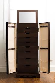 34 Best Jewelry Chests & Cabinets Images On Pinterest   Jewelry ... Double Honey For Chelsea Jewelry Armoire Grey Mist Hives Hayneedle Madison And Landry Dark Walnut Celine Espresso Armoires Cabinets Sears Interior Honey Jewelry Armoire Faedaworkscom Trinity Mirrfront Cheval Morgan