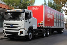 100 Picture Of Truck AnheuserBusch To Deploy 21 BYD Electric S As Part Of