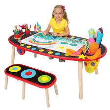 Amazon ALEX Toys Artist Studio Super Art Table With Paper