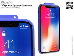 iPhone X – 3D printed case Martin Hajek