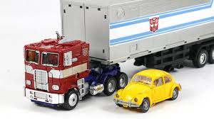 100 Optimus Prime Truck Model Transformers Movie Bumblebee Legendary Bumblebee