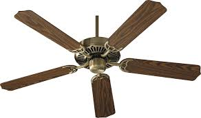 42 Ceiling Fan With Remote by Quorum 77425 4 Capri Antique Brass 42
