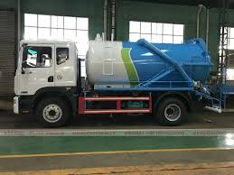 China Dongfeng D9 Duolika 10 Cbm Sewage Suction Truck, China Sewage ...