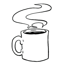 How To Draw A Coffee Cup Drawn Mug Free Logo Coloring Pages