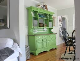 Green Hutch From Living Room Furniture