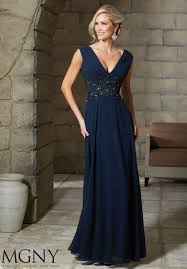 beaded appliques on lace evening gown and stole style 71215