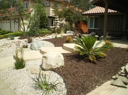 Tropical Front Yard Landscaping Ideas Garden Design Pictures Landscape In Large Gardening Pinterest Low Maintenance