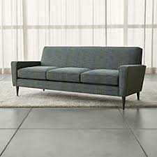 margot grey loveseat crate and barrel