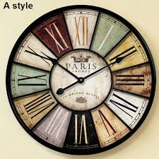 Large Decorative Wall Clocks Elegant Big Pinterest