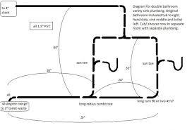 Kitchen Sink Drain Pipe Diagram by Bathroom Sink Plumbing Diagram Home Design