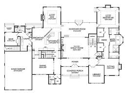 3 Bedroom Ranch Floor Plans Colors Best 6 Bedroom House Plans With Interior Home Ideas Color With 6