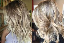 Short Blonde Balayage Hair Colors 2017 Summer