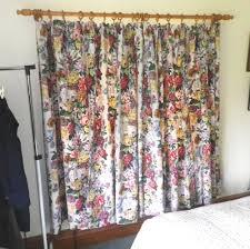 Ebay Curtains With Pelmets Ready Made by Vintage Jonelle Duracolour Cotton Curtains U0027emma U0027 Design Blue