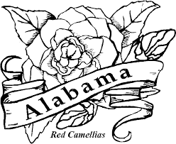 Pretty Inspiration State Flower Coloring Pages 50 Flowers